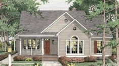 This farmhouse design floor plan is 1539 sq ft and has 3 bedrooms and has 2.00 bathrooms.