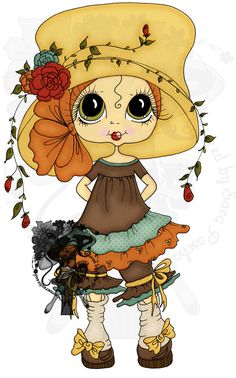 My Besties by sherri baldy flower hat girl colored by sara paschal https://www.etsy.com/listing/243072237/instant-download-digital-digi-stamps-big?ref=shop_home_active_1&ga_search_query=flower%2Bhat%2Bgirl