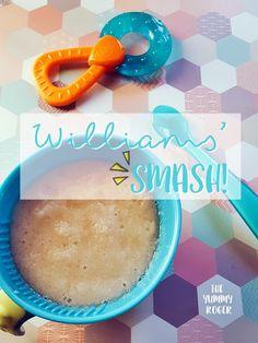 Williams'smash!! Un #omogeneizzato homemade al gusto banana e pera da gustare dai 4 mesi in su.