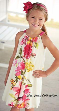 """Kali"" dress.  Kids Fashion. www.facebook.com/WeeOnesCollection"