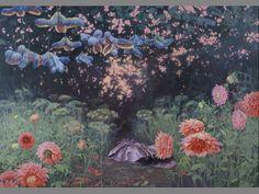 """Joanna Sierko-Filipowska; """"Hot evening""""   Oil on canvas   2008 rok"""