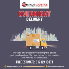 Space Logistics is getting loads to all corners of Europe and the UK day and night and delivering your consignments to different consignees on-time. 👉 Call on 📲 01212410371. Overnight Delivery, Uk Europe, Pallet, Train, Space, Floor Space, Shed Base, Palette, Pallets