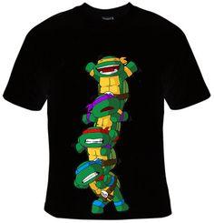 Teenage Mutant Ninja Turtle   T Shirt Design for by SimpleShirt, $16.00