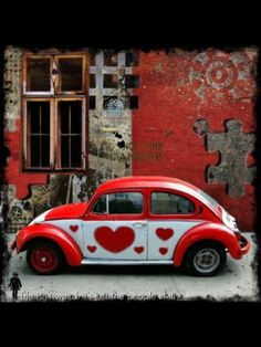 "The Love Bug! I call my hubby ""luv bug."" ...from my board dedicated to my hubby and me~"