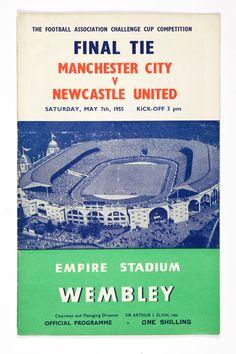 Lot 628 A 1958 F.Cup Final programme, Bolton Wanderers V Manchester United Estimate: - Manchester City, Manchester United, Bolton Wanderers, Challenge Cup, Fa Cup Final, Football Program, Everton, Newcastle, Programming
