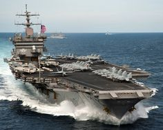 """Parts from the USS Enterprise — the """"Big E"""" — are being incorporated into other US Navy carriers. See where the pieces of this big ship are going. Us Navy Aircraft, Navy Aircraft Carrier, Military Aircraft, Military Weapons, Uss Enterprise Cvn 65, Carrier Strike Group, Navy Carriers, Go Navy, Royal Navy"""