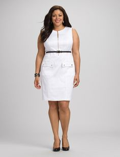 20 Plus-Size White Dresses That Are Perfect For Summer
