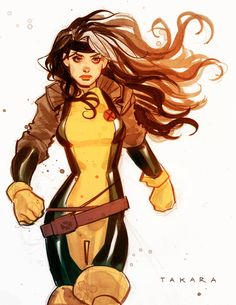 Rogue (X-Men) by marciotakara.deviantart.com on @deviantART