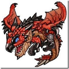 Street Fighter X All Capcom - Rathalos (Monster Hunter)