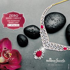 Zero Making Charges* On Diamond Jewellery Valid in Delhi NCR, Uttar Pradesh, Punjab & Haryana Showrooms Only Beautify your best moments with Elegance. Reliance Jewels Be The Moment www.reliancejewels.com ‪#‎Reliance‬ ‪#‎RelianceJewels‬ ‪#‎Jewel‬ ‪#‎Jewellery‬ ‪#‎Offer‬ ‪#‎Diamond‬