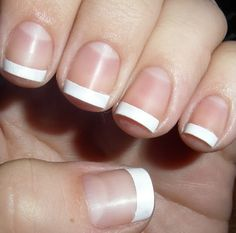 Manicure Nail Wraps – A Silk Wrap Nails: French Classic Manicure Wrap Hipsterwall ~ hipsterwall.com Nails Inspiration