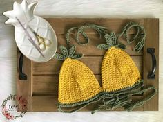 Pineapple Bralette Pattern TCWL Boutique & Designs Crochet