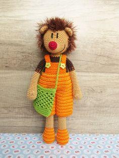 Häkelanleitung Crochet Pattern Igel Hank Hedgehog Amigurumi   Etsy Adobe Reader, Hedgehog, Crochet Patterns, Teddy Bear, Toys, Animals, Amigurumi, Hand Crafts, Shopping