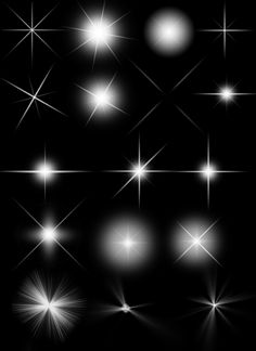 Bling Effects Pack – 50 Free Photoshop Brushes