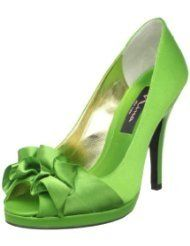 Green Prom Heels