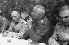 "history-museum: ""Generalfeldmarschall Erich von Manstein smokes a cigar at a meeting with invited Turkish generals. Manstein's strong reputation fell after there were revelations about his ties to..."