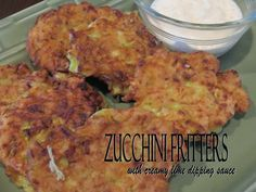 Made these zucchini fritters tonight. Holy moly they are GOOD! Even the kids, all the way down to the 2-year-old loved them! Definitely making these again!