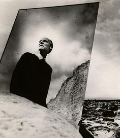 Edwynn Houk Gallery - Bill Brandt Self portrait with mirrors