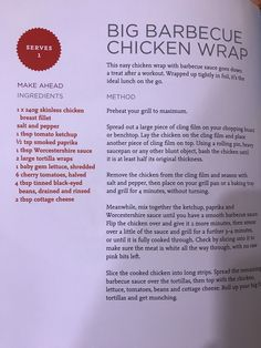 Bodycoach Recipes, Joe Wicks, Lunch To Go, Chicken Wraps, Barbecue Sauce, Treats, Sweet Like Candy, Goodies, Bbq Sauces
