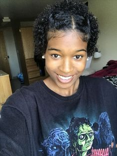 Ultra Defined TWA Curls...Find More Short Natural Hairstyles Here ...