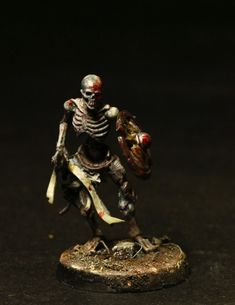 This is a terrifiying skeleton!