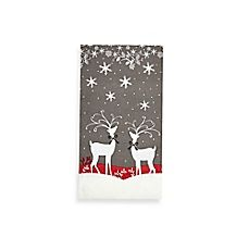 image of Reindeer Games 20-Count Decorative Paper Guest Towels