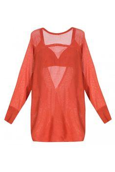 TOP BARDO Top em tricot, costas em decote V transpassado e manga morcego. Acompanha top underwear no mesmo tecido e alça regulável. Composição: 81% Viscose 19% Poliamida