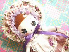 By Kawaii Japan  Japanese Kawaii Handmade Bunka Doll Art Doll Rose Garden