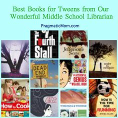 best books for tweens, middle school summer reading list, best books for middle school,