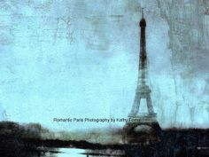 Paris Photography  Dreamy Eiffel Tower Print  by KathyFornal, $28.00