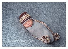 Baby Boy Beanie Crochet Baby Hat Newborn Hats by knoodleknits, $26.00
