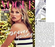 Jeunesse® is in Vogue - literally! Check out the current edition of Vogue Magazine (July where you will find mention of our flagship product - LUMINESCE™ cellular rejuvenation serum. With an Aussie readership of Jeunesse is certainly getting noticed! Latina, Under Eye Bags, Growth Factor, Vogue Australia, Vogue Magazine, Stem Cells, Pure Beauty, Beauty Tips, Anti Aging Skin Care