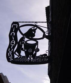 Villefranche de Conflent - Enseigne miniature