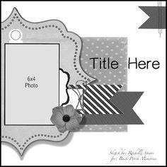 Rochelle Spears layout sketch