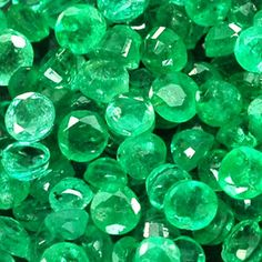 JUST JEWELS - EMERALD LOTS ( 2 X 25 Piece - 1.10 TCts PER LOT)