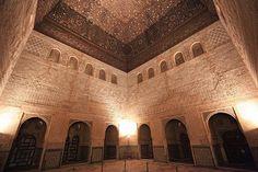 アルハンブラ宮殿 コマレス宮の「大使の間」|グラナダ、スペイン