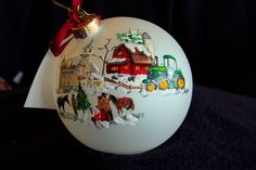 Hand Painted OrnamentChurch Barn SingerItem by reneesprettypainted, $21.95