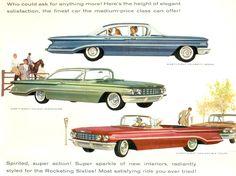 https://flic.kr/p/e6hV8u   1960 Oldsmobile Ninety-Eight Celebrity Sedan,  Holiday Scenicoupe and Convertilbe Coupe