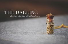 The Darling A Glitter Vial Necklace...for a good cause :)