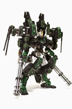 GUNDAM GUY: MG 1/100 Gundam Astray Green Frame and Gear - Custom Build