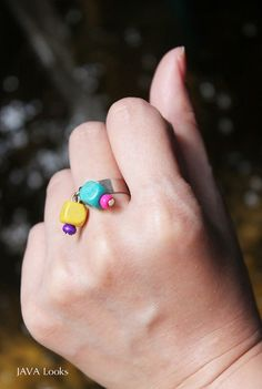 Fashion wooden adjustable rings handmade jewelry and by JAVALooks, $18.86