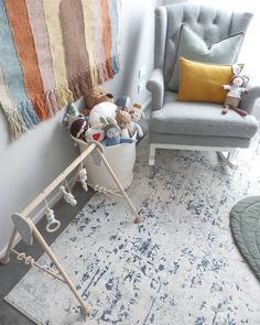 Nursery Rugs, Soothing Colors, Holidays With Kids, Modern Rugs, Christmas Traditions, Abstract Pattern, Kids Gifts, Blue Grey, Design Trends