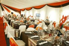 decor Tent Decorations, Wedding Decorations, African Theme, African Style, Traditional Decor, Traditional Weddings, Table Set Up, Chic Wedding, Wedding Stuff