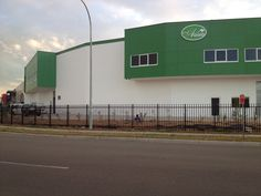 Simple economic warehouse dual units with mezzanine offices