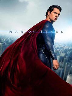 Henry Cavill as Clark Kent/Superman in Man Of Steel Man Of Steel Film, Superman Pictures, Superman Henry Cavill, Film Man, Superman Man Of Steel, Christopher Nolan, Superhero Movies, Clark Kent, Movie Posters