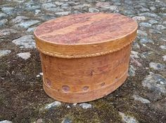 Birch bark box Container with lid Handmade canister by BirchBirds