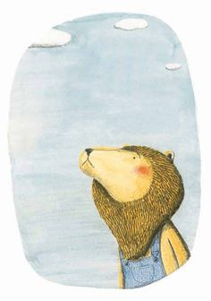 Illustration by from The Lion and the Bird by Marianne Dubuc