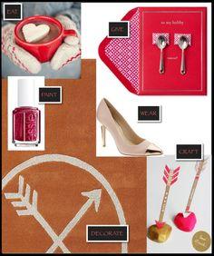 Valentine's Day Inspiration #valentinesday #holiday #essie #DIY #Craft
