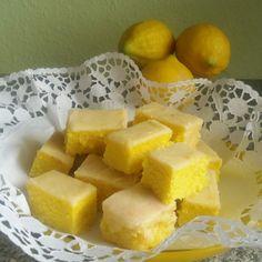 Zitronen-Kuchen vom Blech mit Buttermilch