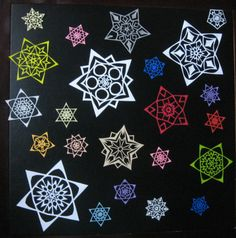Just like in nature, no two paper snowflakes are exactly alike. I cut each snowflake by hand, making each one unique. Paper Snowflakes, Snowflake Designs, Awesome, Unique, Cards, Maps, Playing Cards